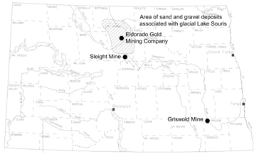 Department Of Mineral Resources Geological Survey - Where is north dakota