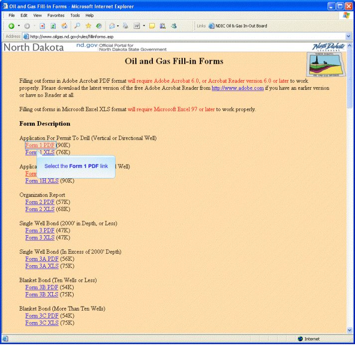 Oil & Gas Website Demo